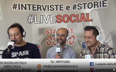 #RadioLombardia intervista #LumachedellaBrianza